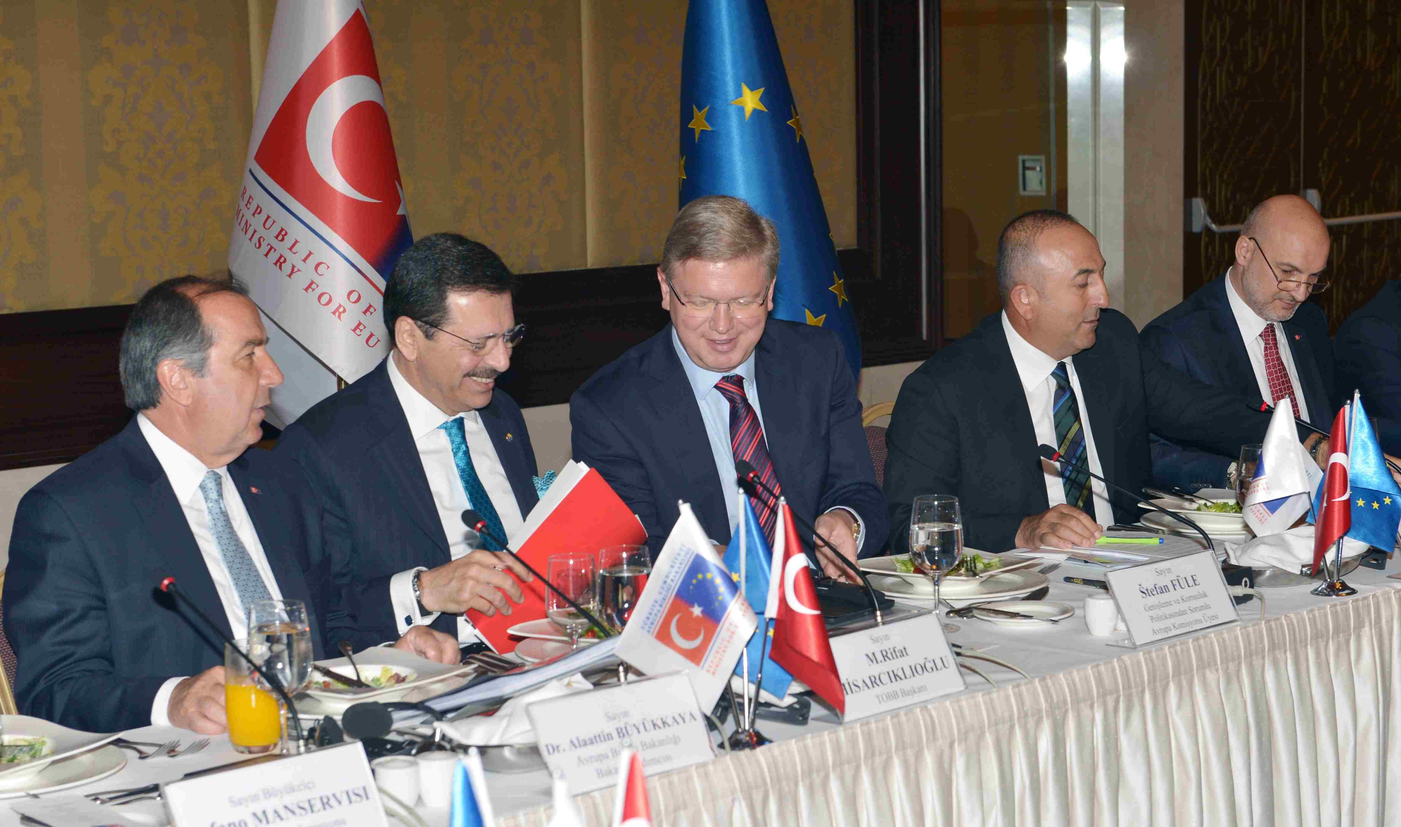 Türkiye-AB ilişkileri STK'ların katıldığı toplantıda ele alındı